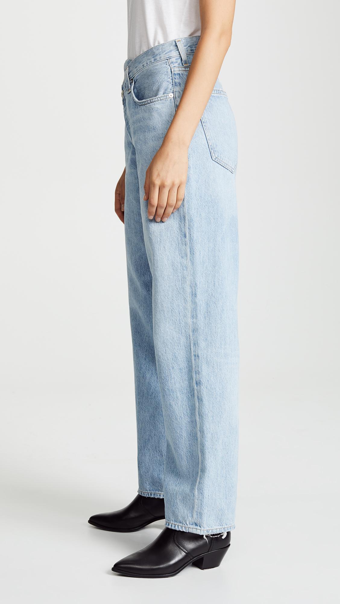 0a83c8904d2b9 AGOLDE Crisscross Jeans   SHOPBOP