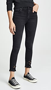 AGOLDE Sophie Crop High Rise Skinny Jeans