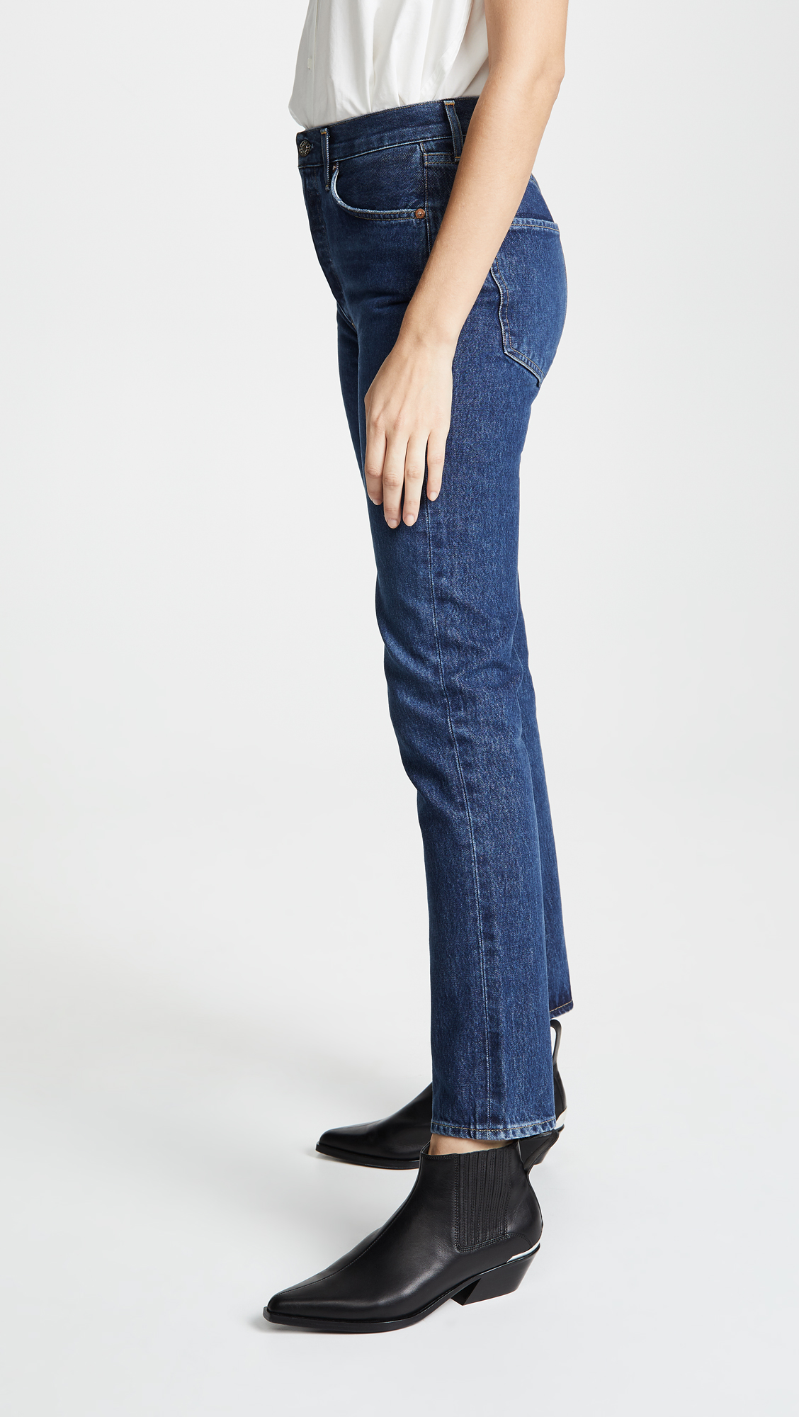 9f894c3c0ad AGOLDE Remy High Rise Straight Jeans