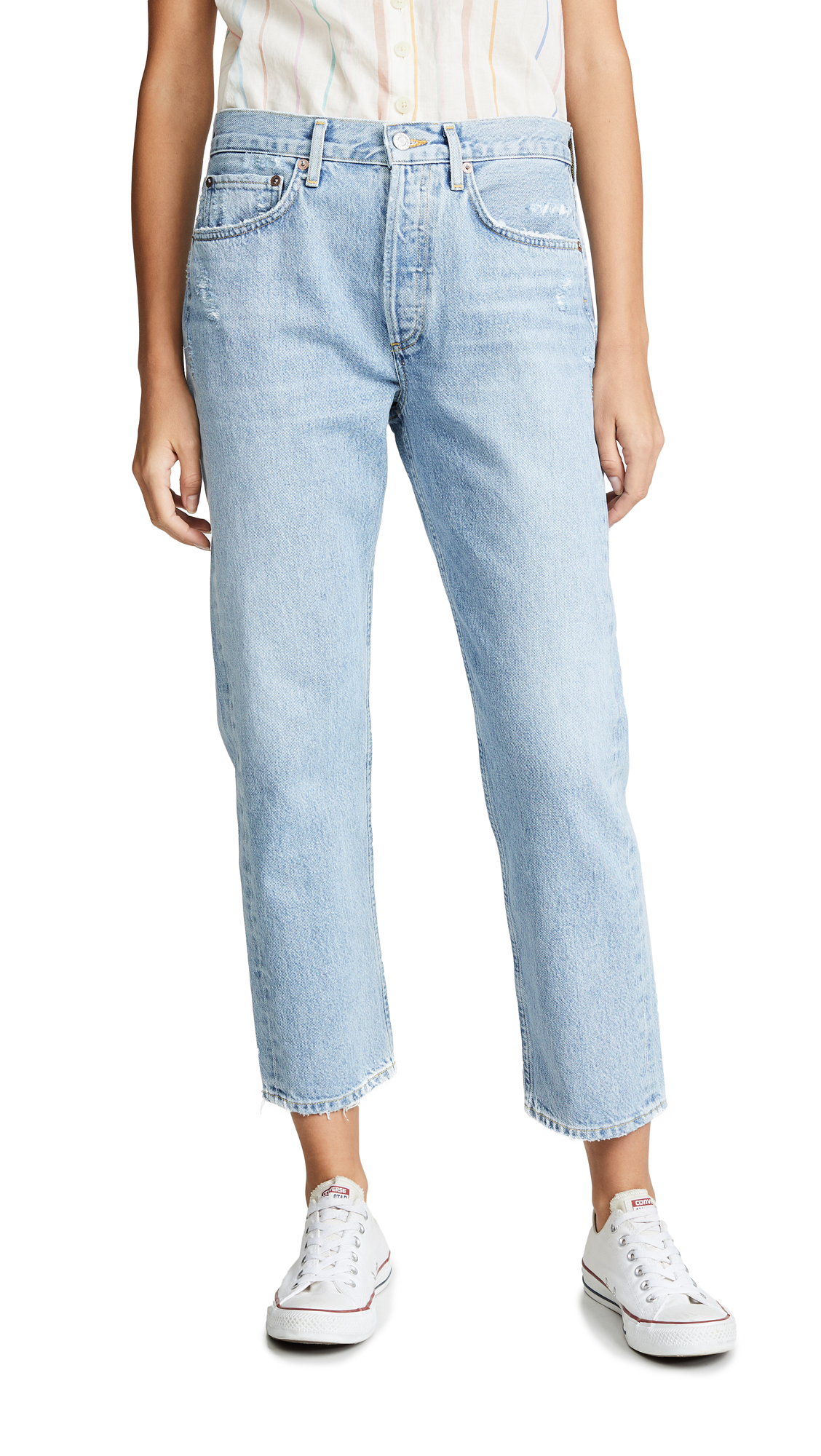 AGOLDE Easy Straight Parker Jeans - Swapmeet