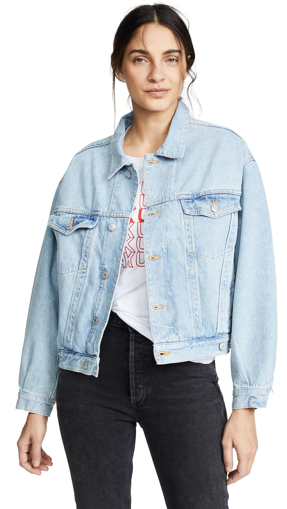 Buy AGOLDE Charli Oversized Denim Jacket online beautiful AGOLDE Clothing, Jackets