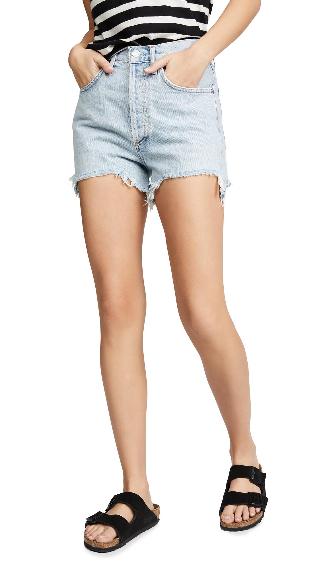 AGOLDE Ultra High Rise Dee Shorts