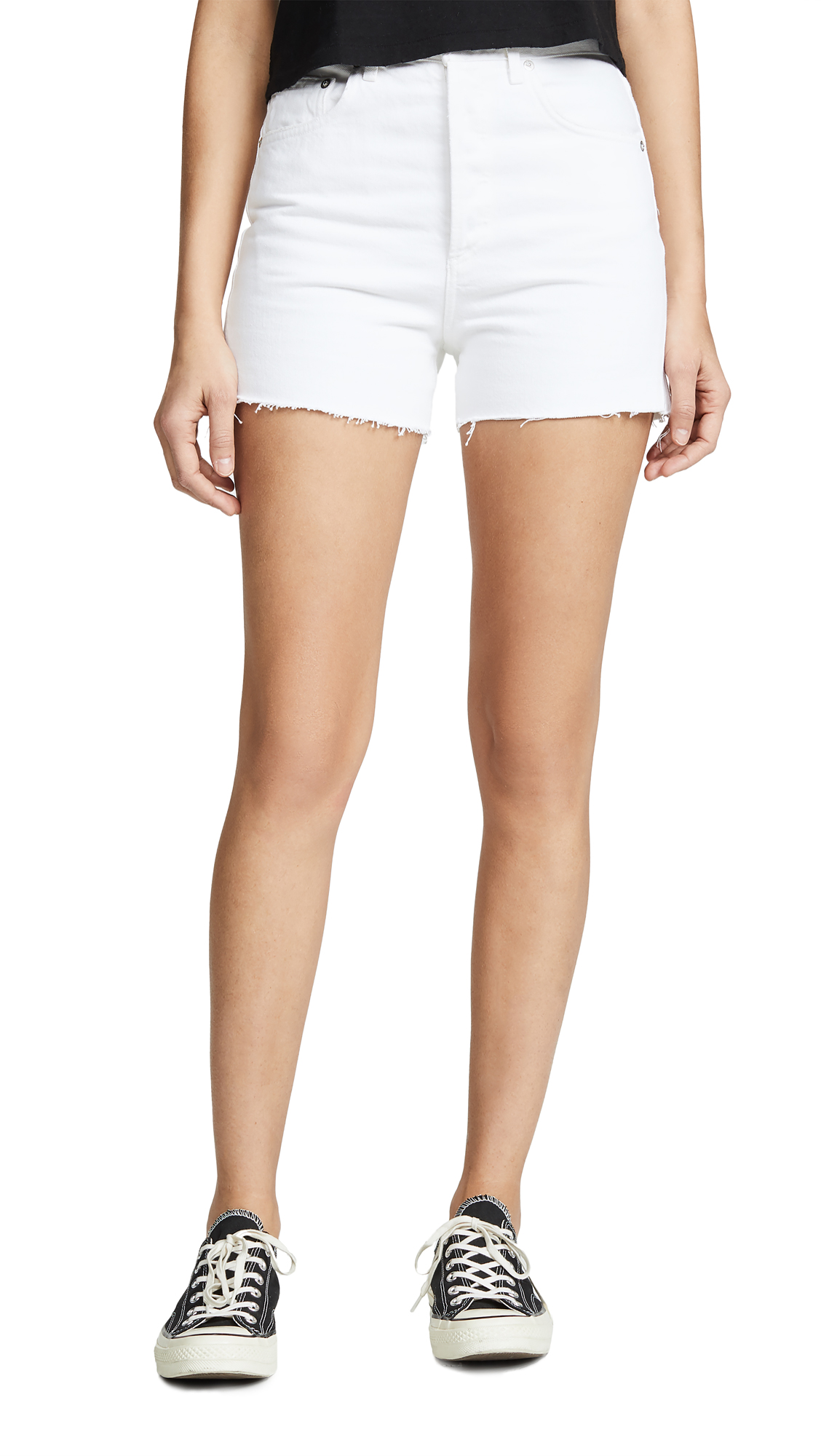 AGOLDE Ultra Hi Rise Close Fit Dee Shorts
