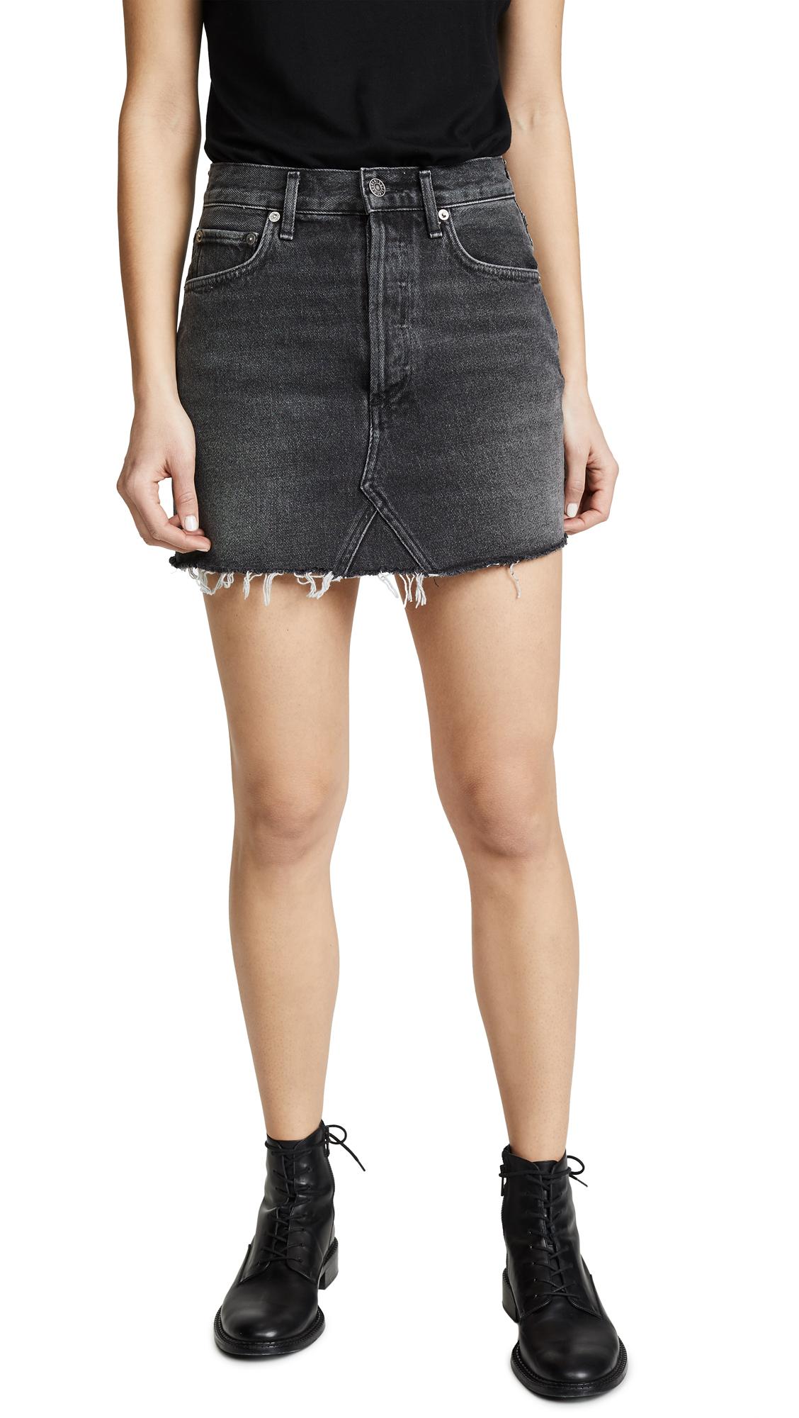 AGOLDE Quinn Miniskirt - Jinx