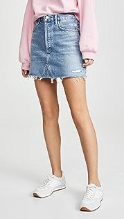 AGOLDE Hi Rise Quinn Miniskirt