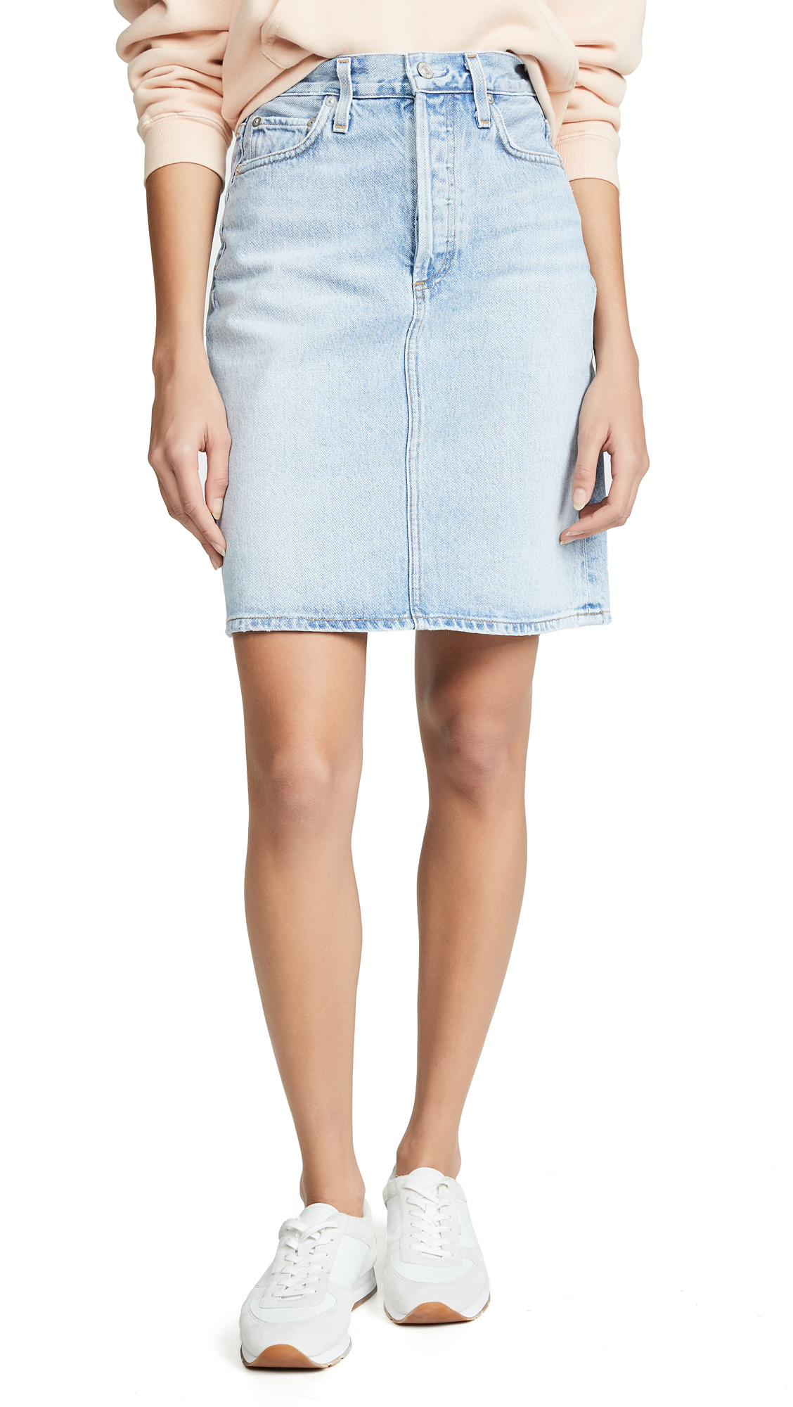 AGOLDE High Rise Iris Skirt - Prankster