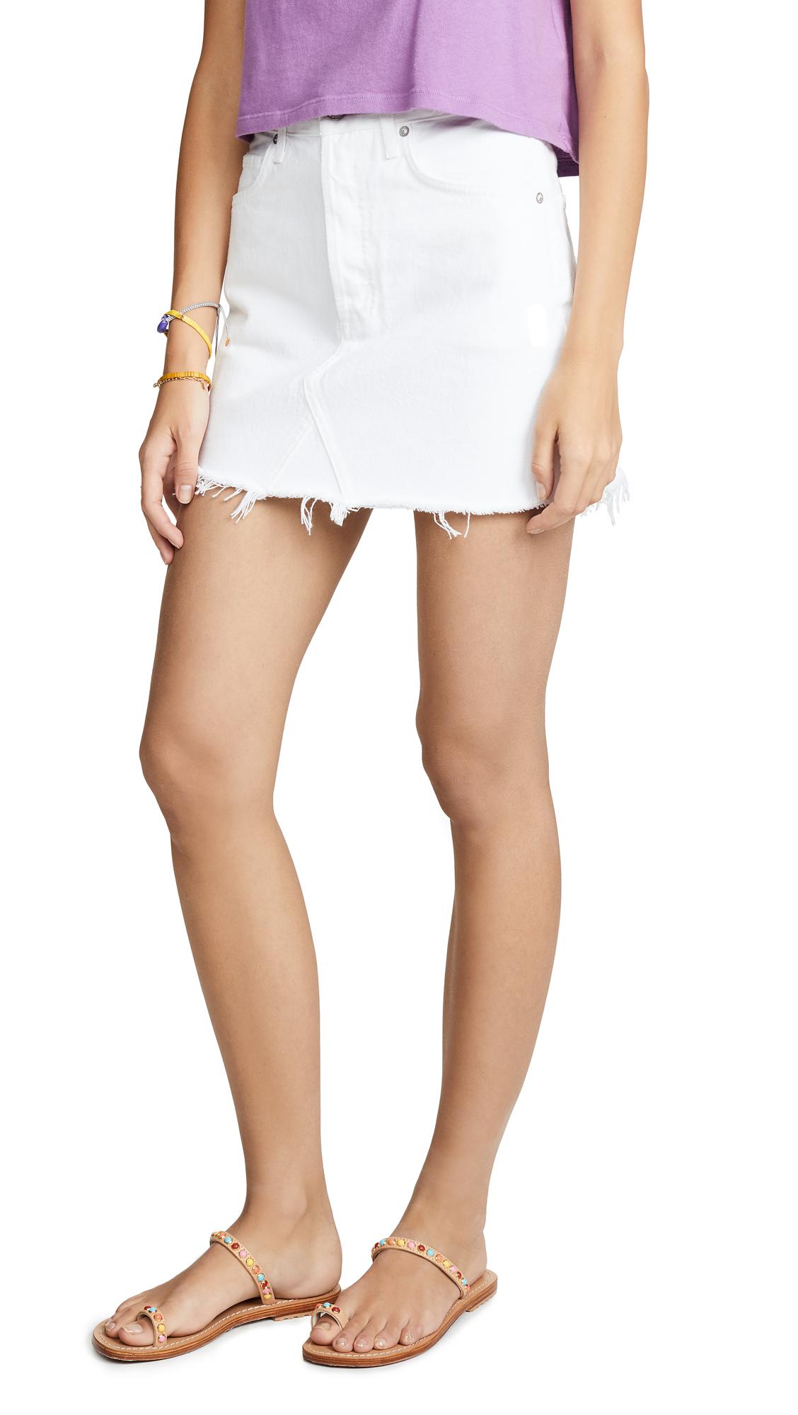 AGOLDE Quinn Skirt - Oyster