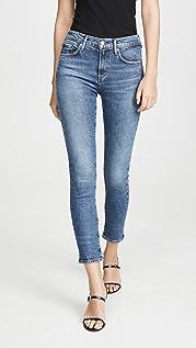 AGOLDE Прямые джинсы Toni со средней посадкой