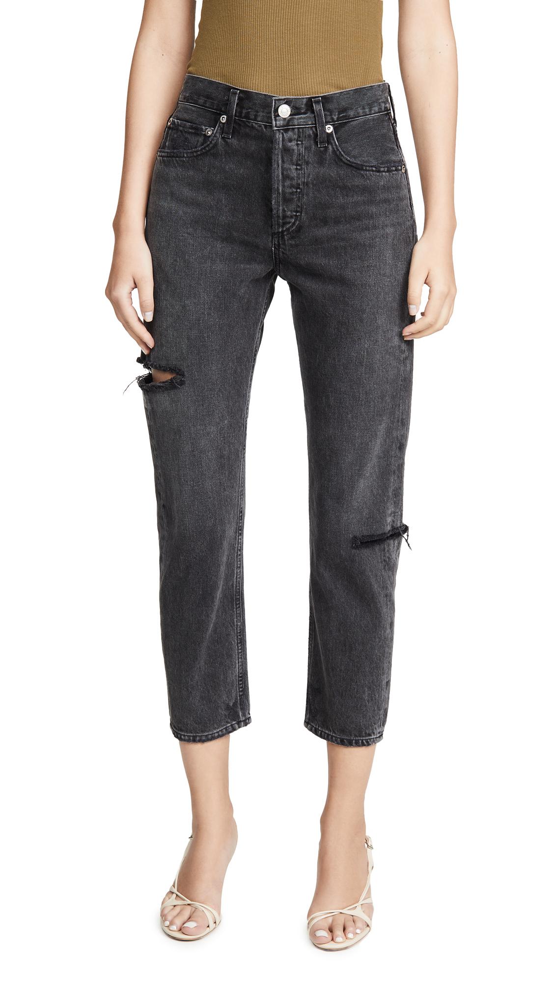 AGOLDE Parker Easy Straight Jeans - Sense