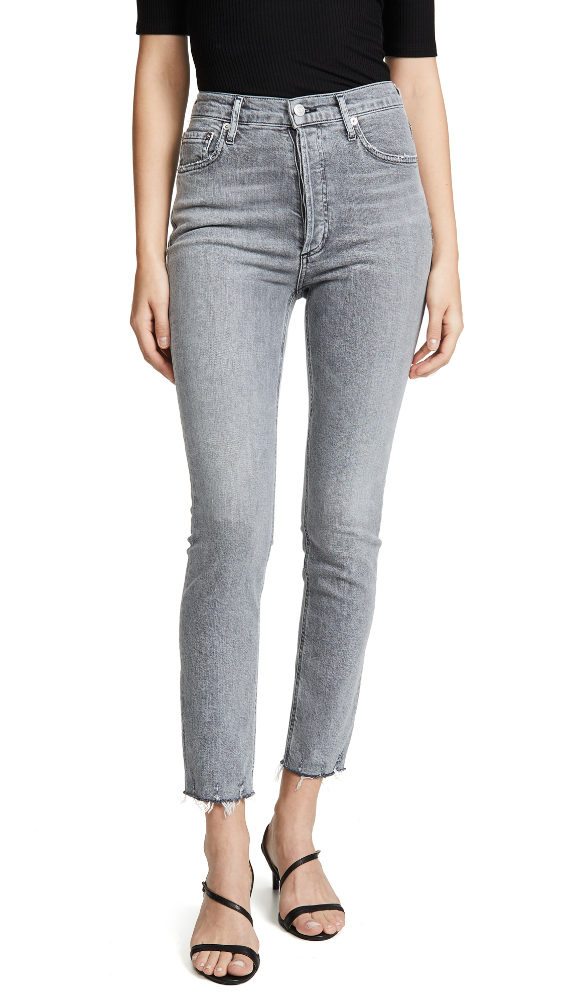 Buy AGOLDE online - photo of AGOLDE Nico High Rise Slim Jeans