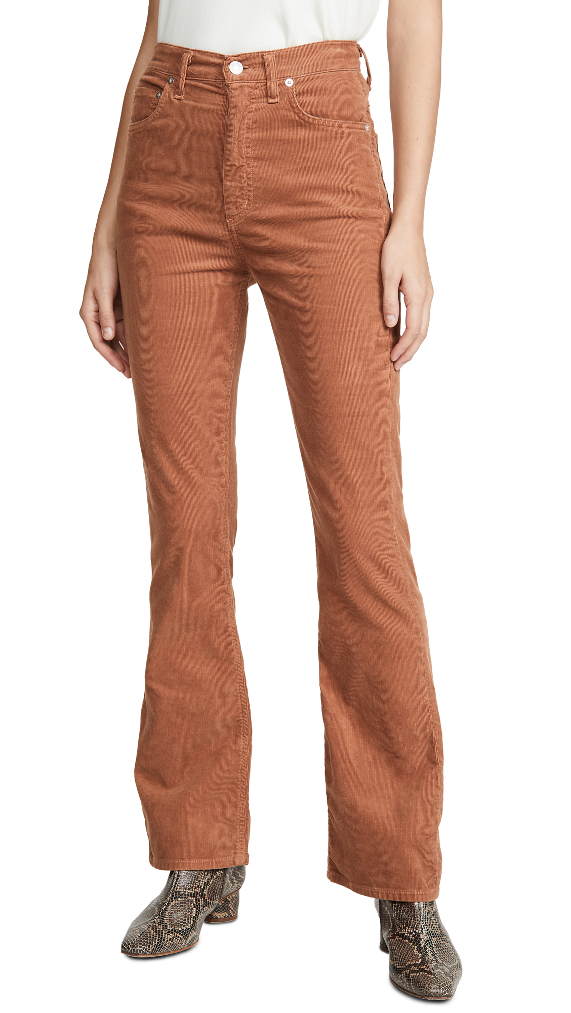 Buy AGOLDE online - photo of AGOLDE Vintage High Rise Flare Pants