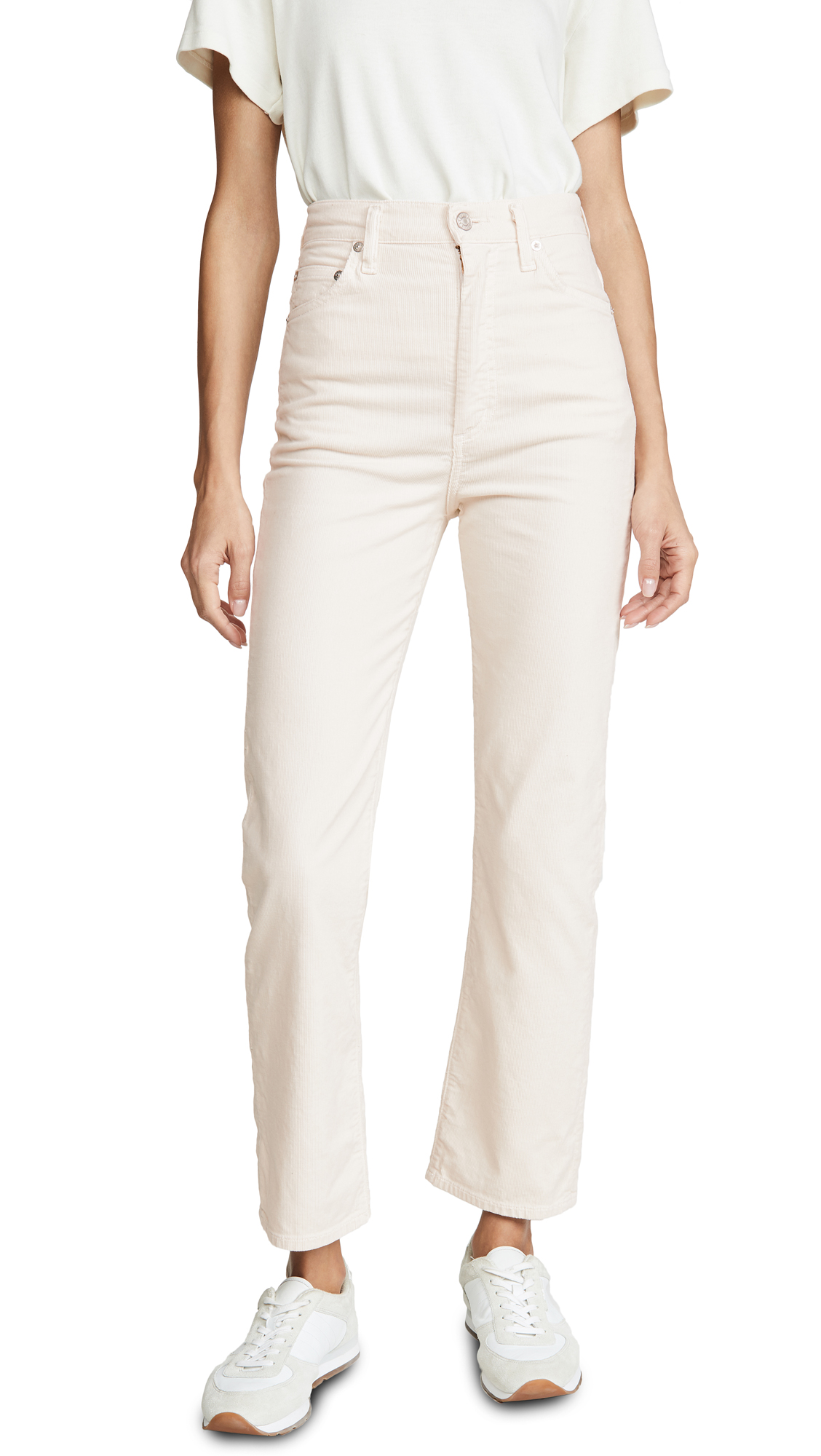 Buy AGOLDE online - photo of AGOLDE Pinch Waist High Rise Kick Pants