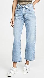AGOLDE Широкие джинсы Ren с высокой посадкой