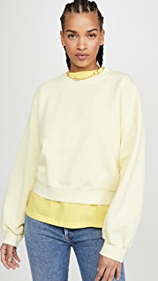 AGOLDE Balloon Sleeve Sweater