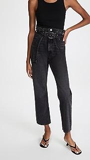 AGOLDE 改良版 90 年代复古风格纸包牛仔裤