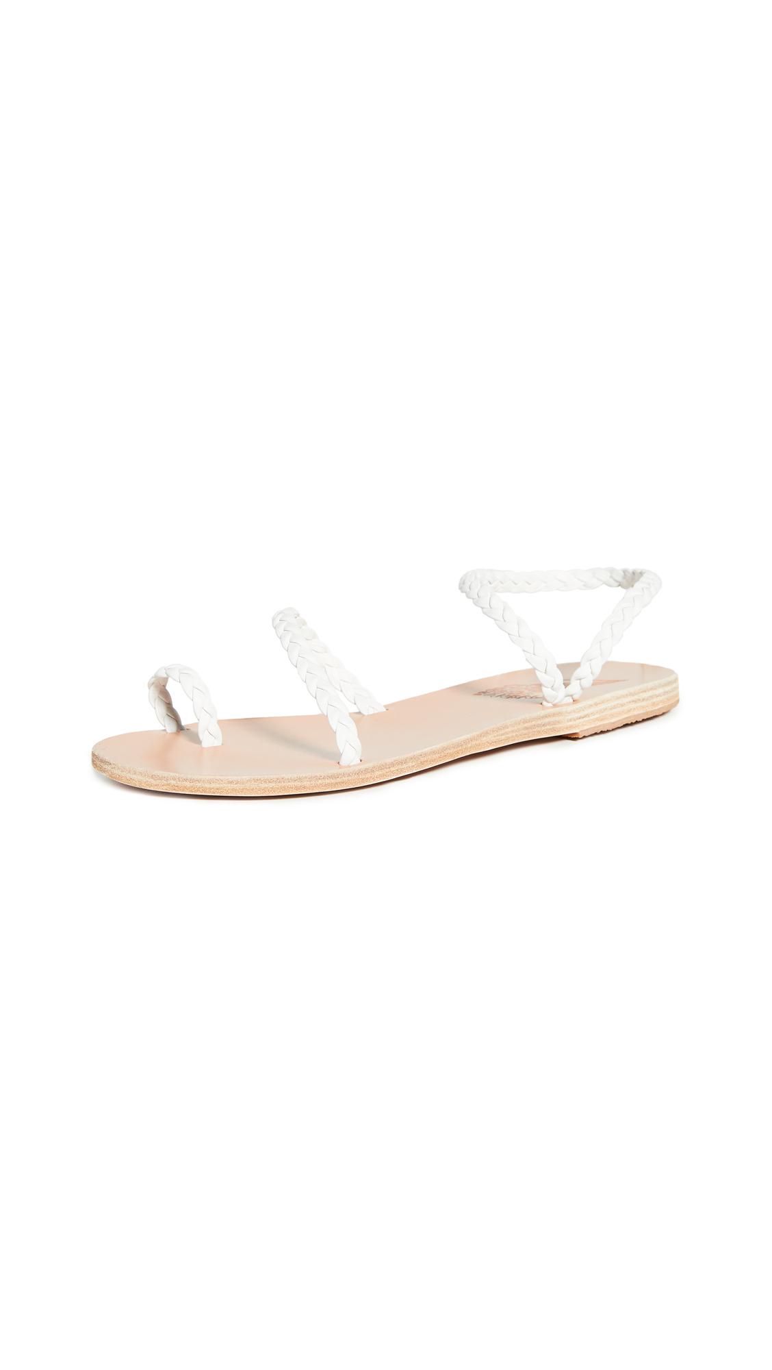 Ancient Greek Sandals Eleftheria Sandals - White
