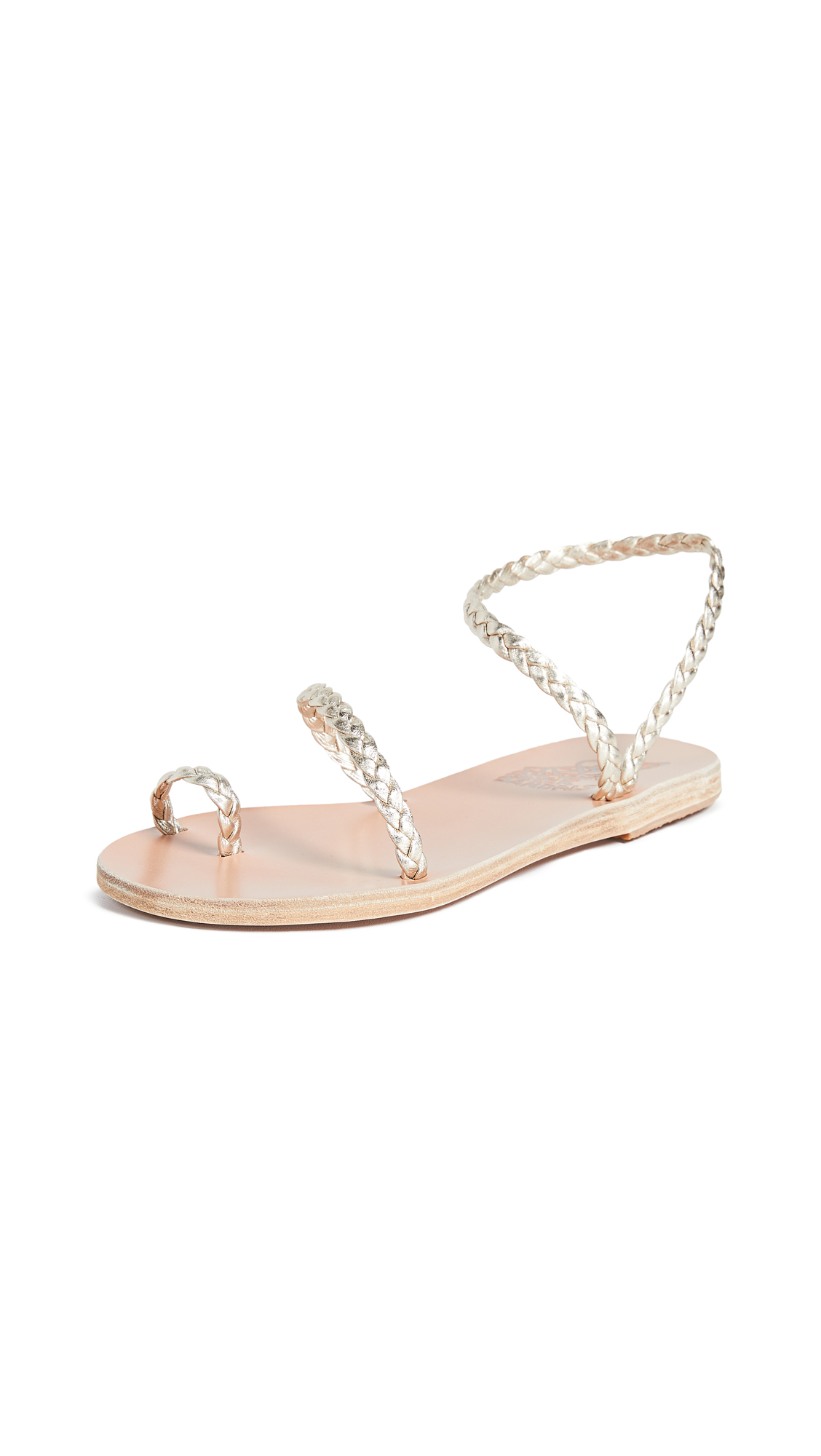 Ancient Greek Sandals Eleftheria Sandals - Platinum