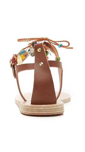 Ancient Greek Sandals Chrysso Stones Sandals