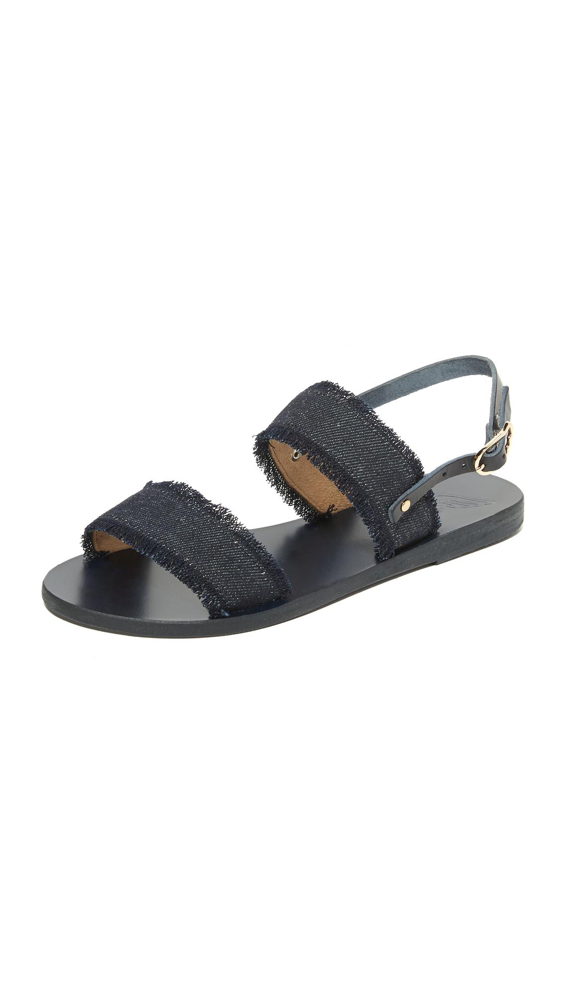 Ancient Greek Sandals Clio Sandals - Dark Denim at Shopbop