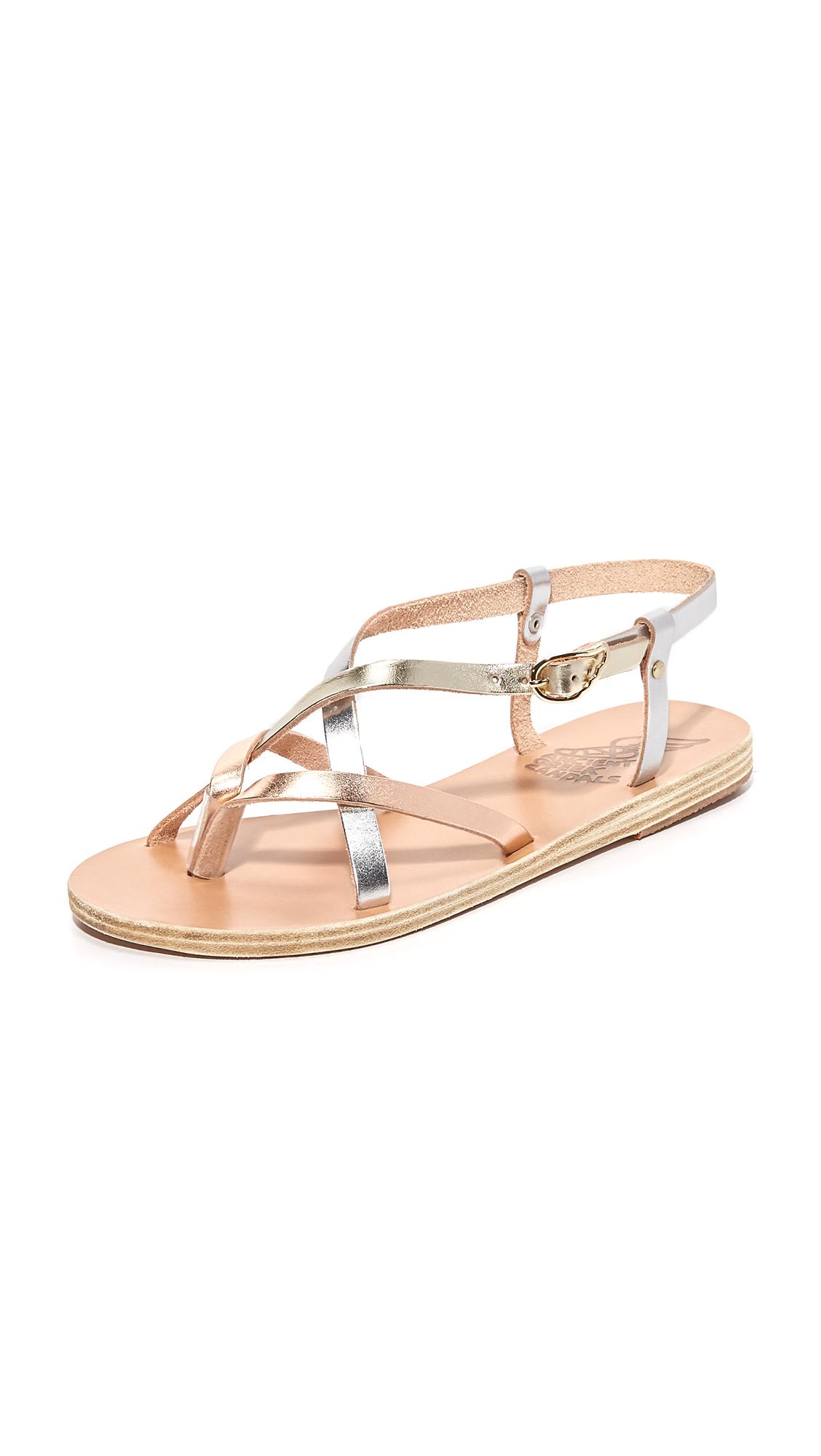 Ancient Greek Sandals Semele Sandals - Pink Metal/Silver/Platinum at Shopbop