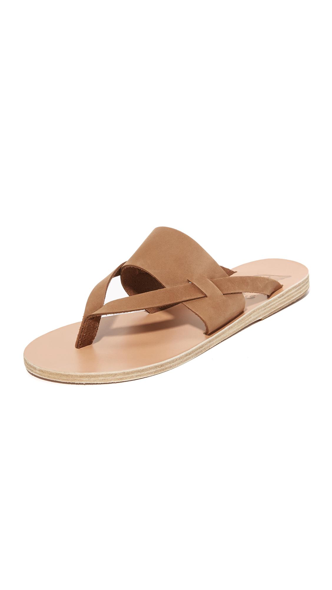 Ancient Greek Sandals Zenobia Thong Sandals - Cappuccino at Shopbop