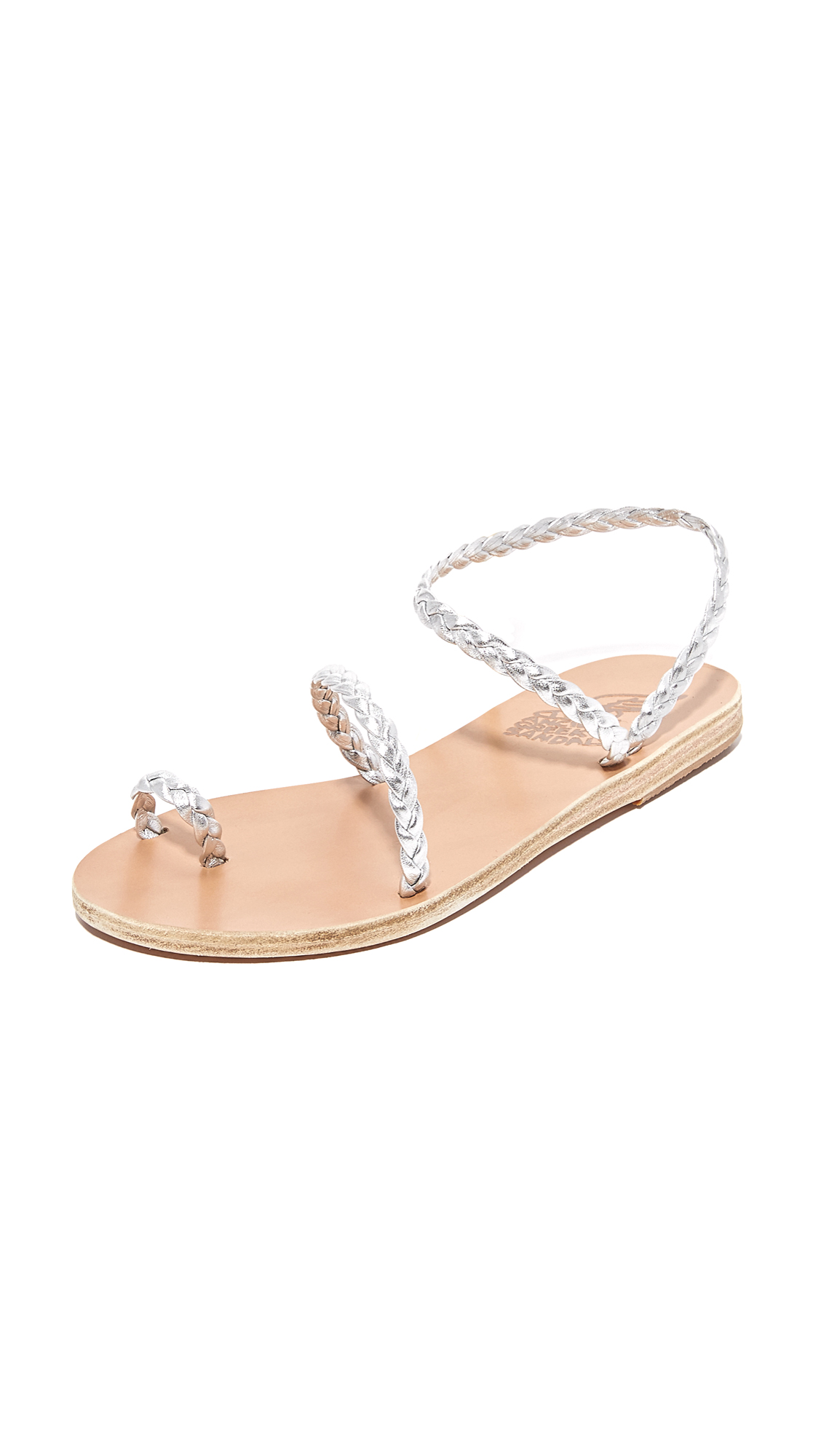Ancient Greek Sandals Eleftheria Sandals - Silver
