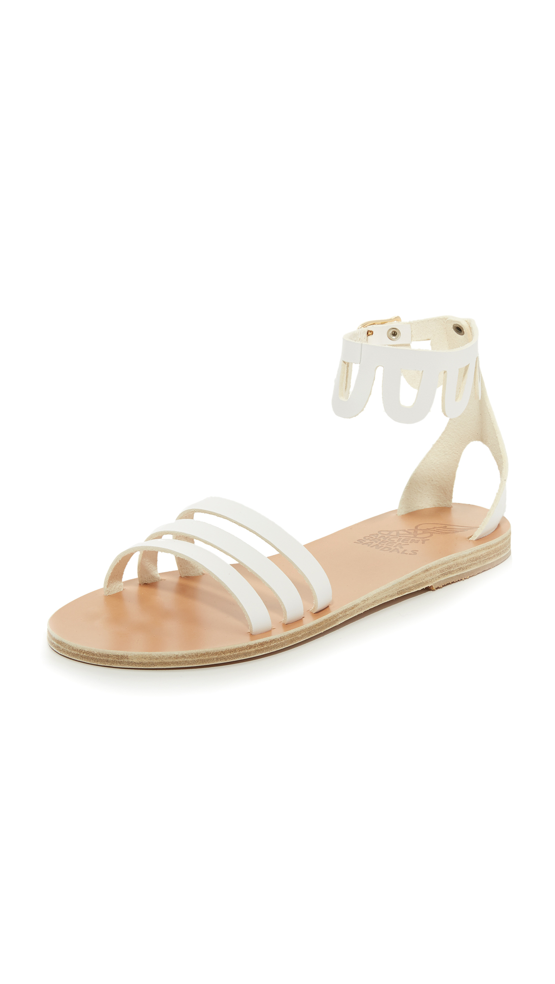 Ancient Greek Sandals Omorfi Sandals - White at Shopbop