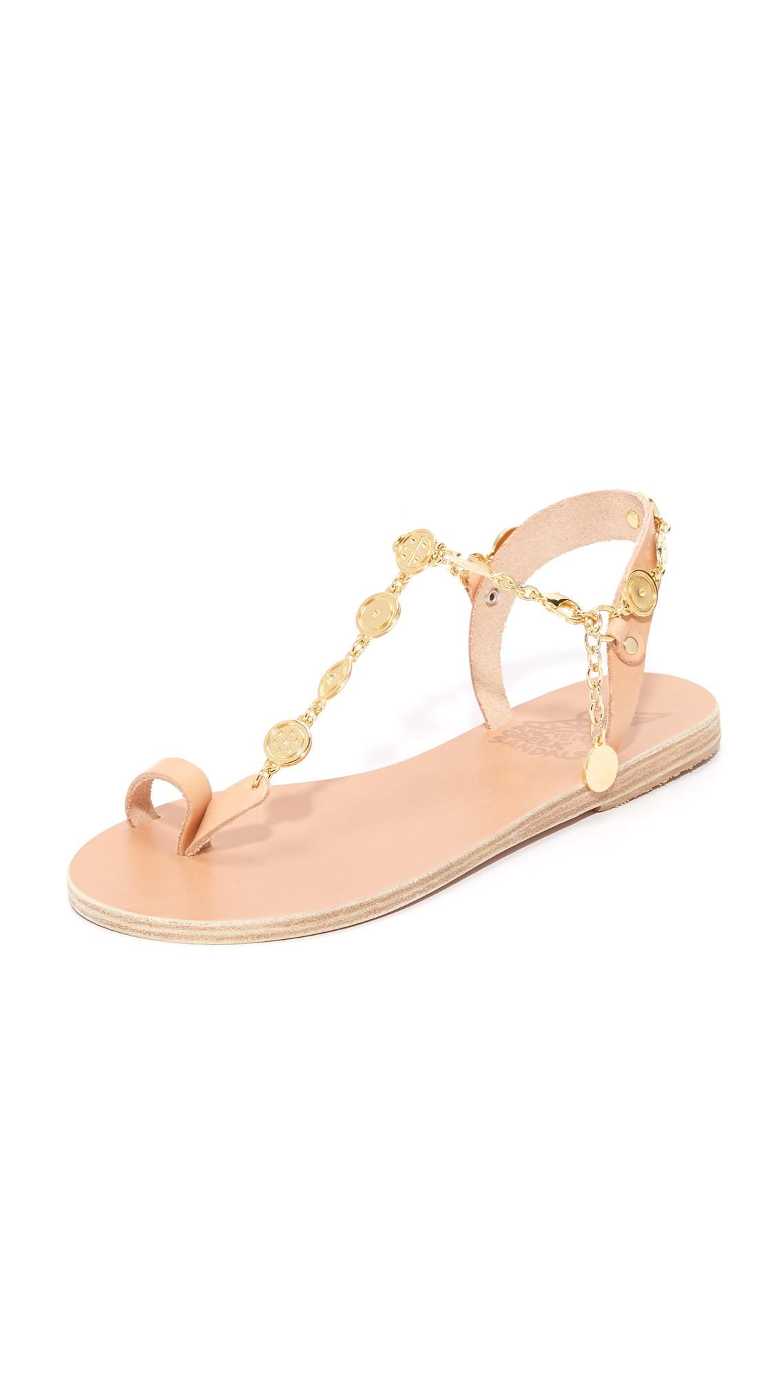 Ancient Greek Sandals Pandora Toe Ring Sandals - Natural at Shopbop