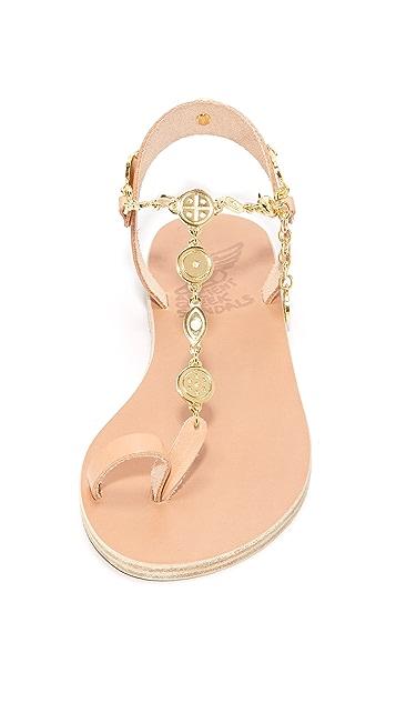 Ancient Greek Sandals Pandora Toe Ring Sandals