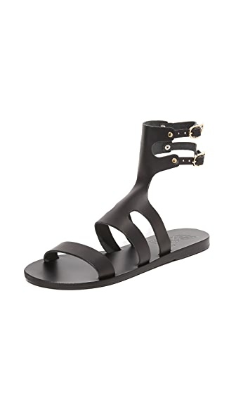 Ancient Greek Sandals Agapi Sandals - Black