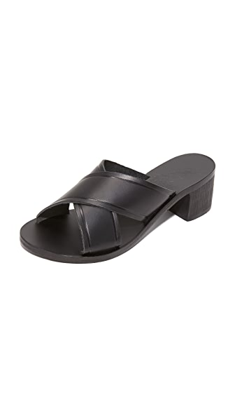 Ancient Greek Sandals Thais City Sandals - Black