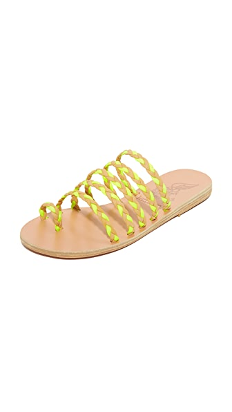 Ancient Greek Sandals Ancient Greek Sandals x Lem Lem Niki Braids Slides