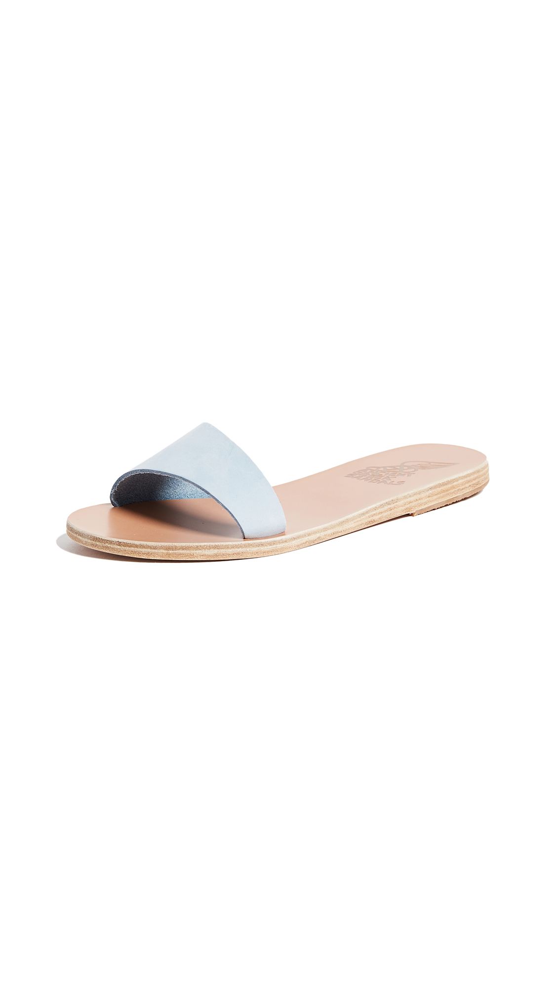 Ancient Greek Sandals Arsinoi Slide Sandals - Baby Blue