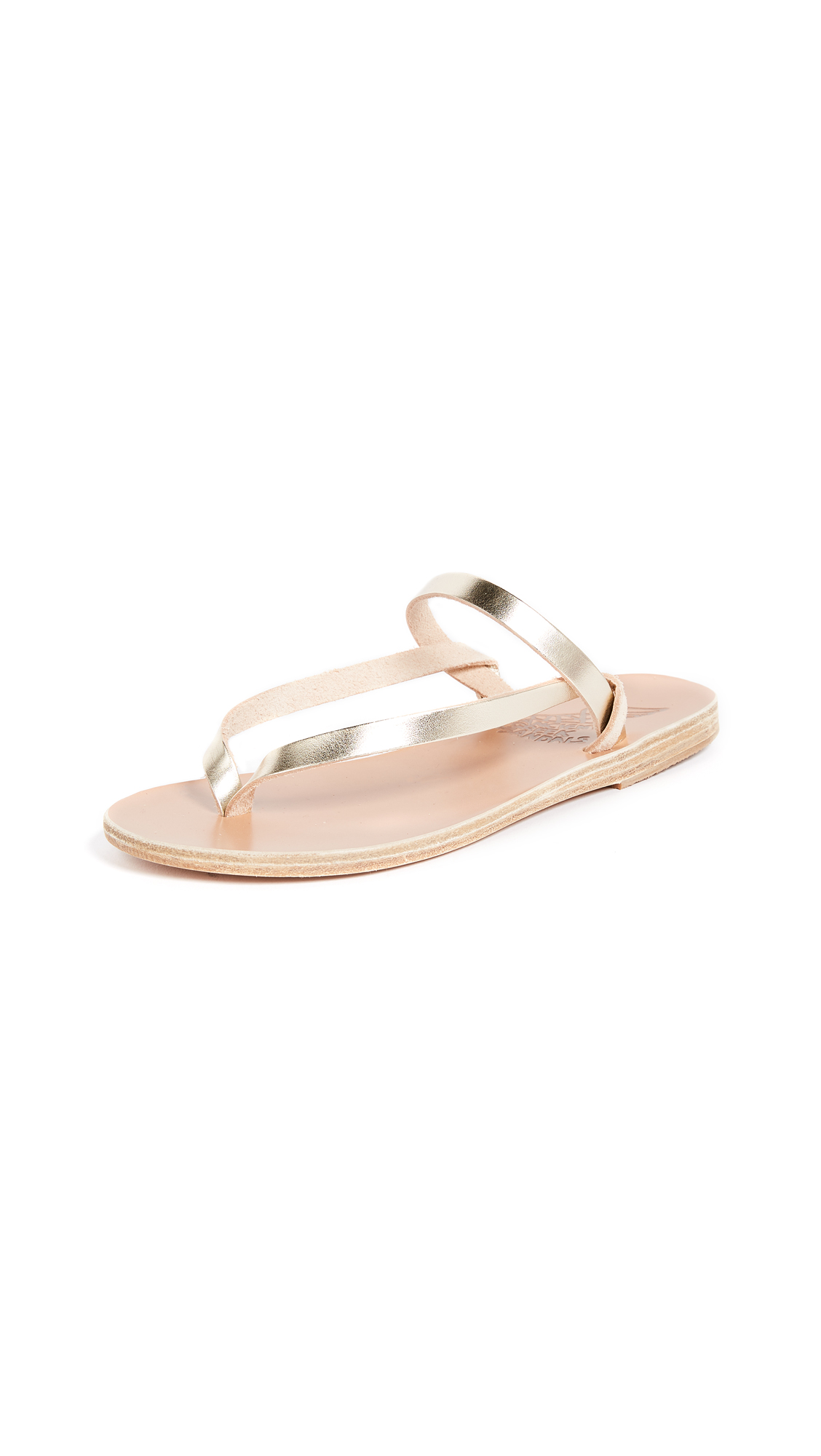 Buy Ancient Greek Sandals Mirsini Thong Sandals online, shop Ancient Greek Sandals