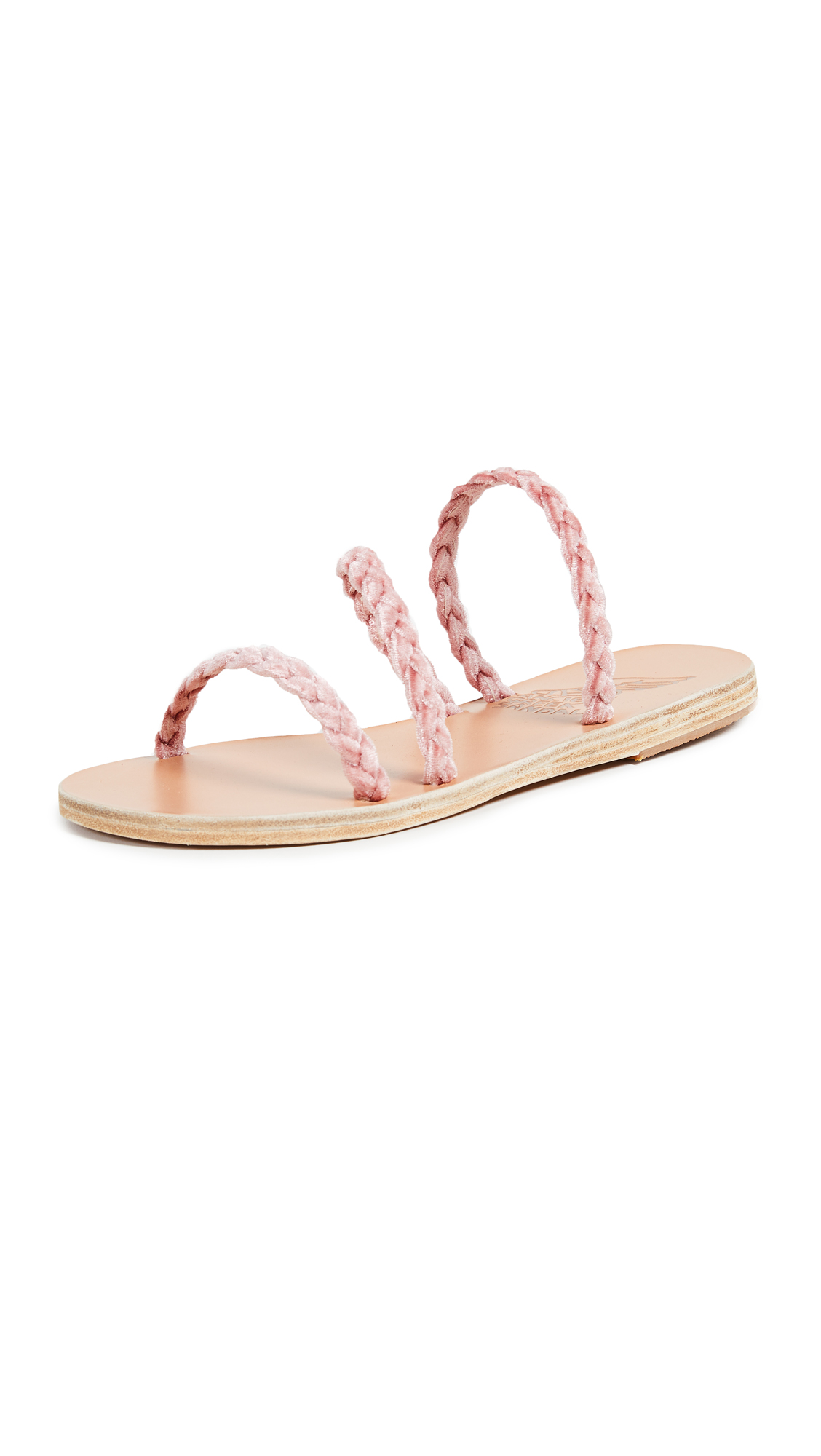Ancient Greek Sandals Alkimini Sandals - Dusty Pink