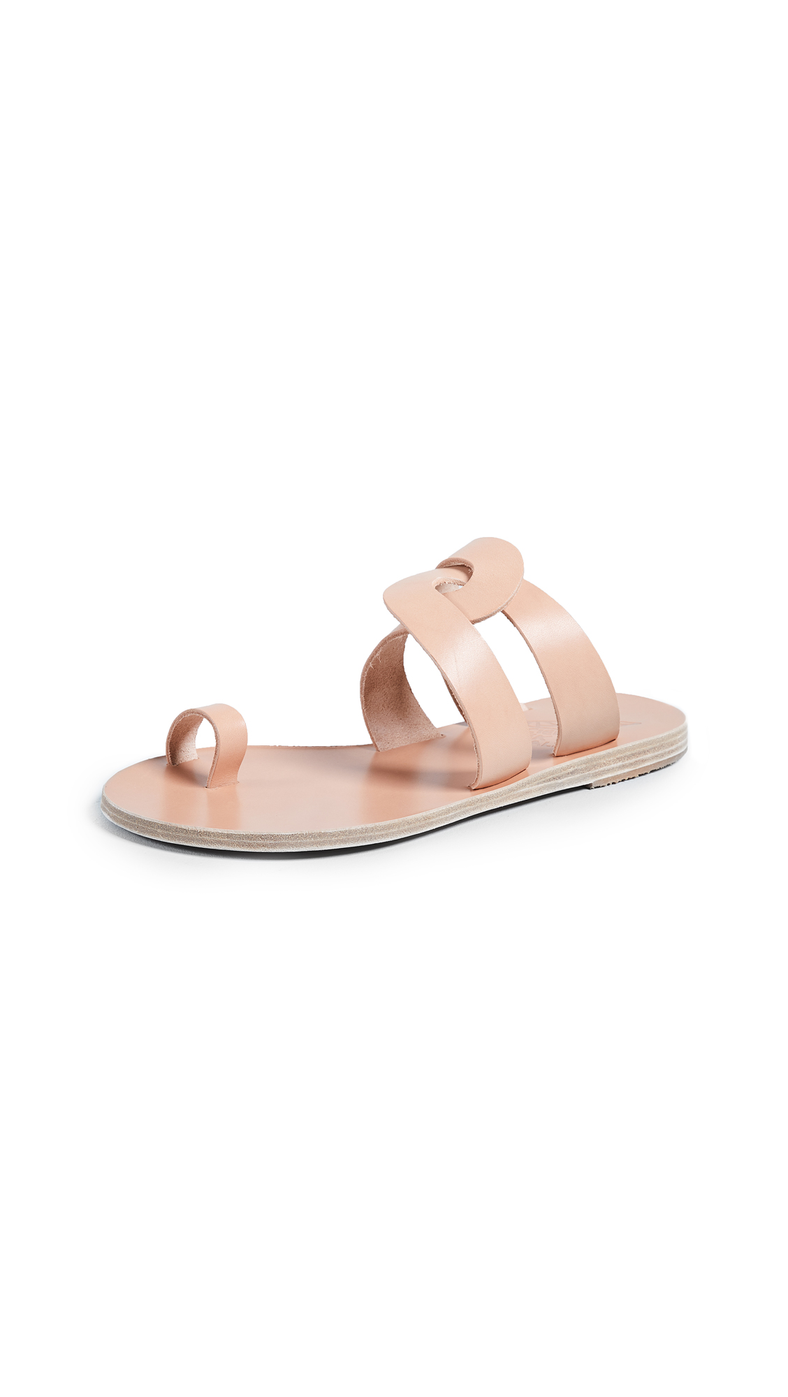 Ancient Greek Sandals Alysis Slide Sandals - Natural