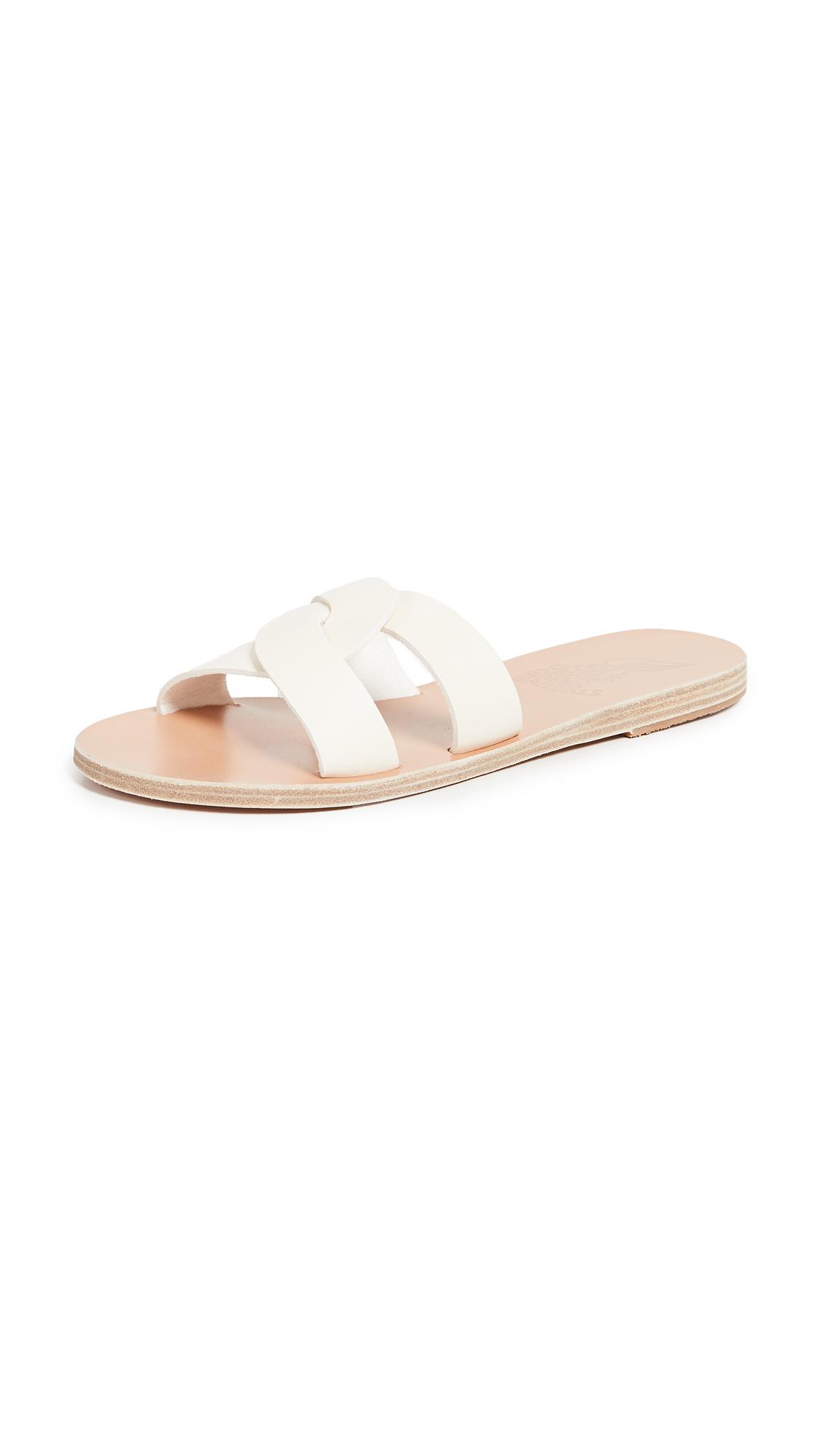 Ancient Greek Sandals Desmos Slide Sandals - Off White