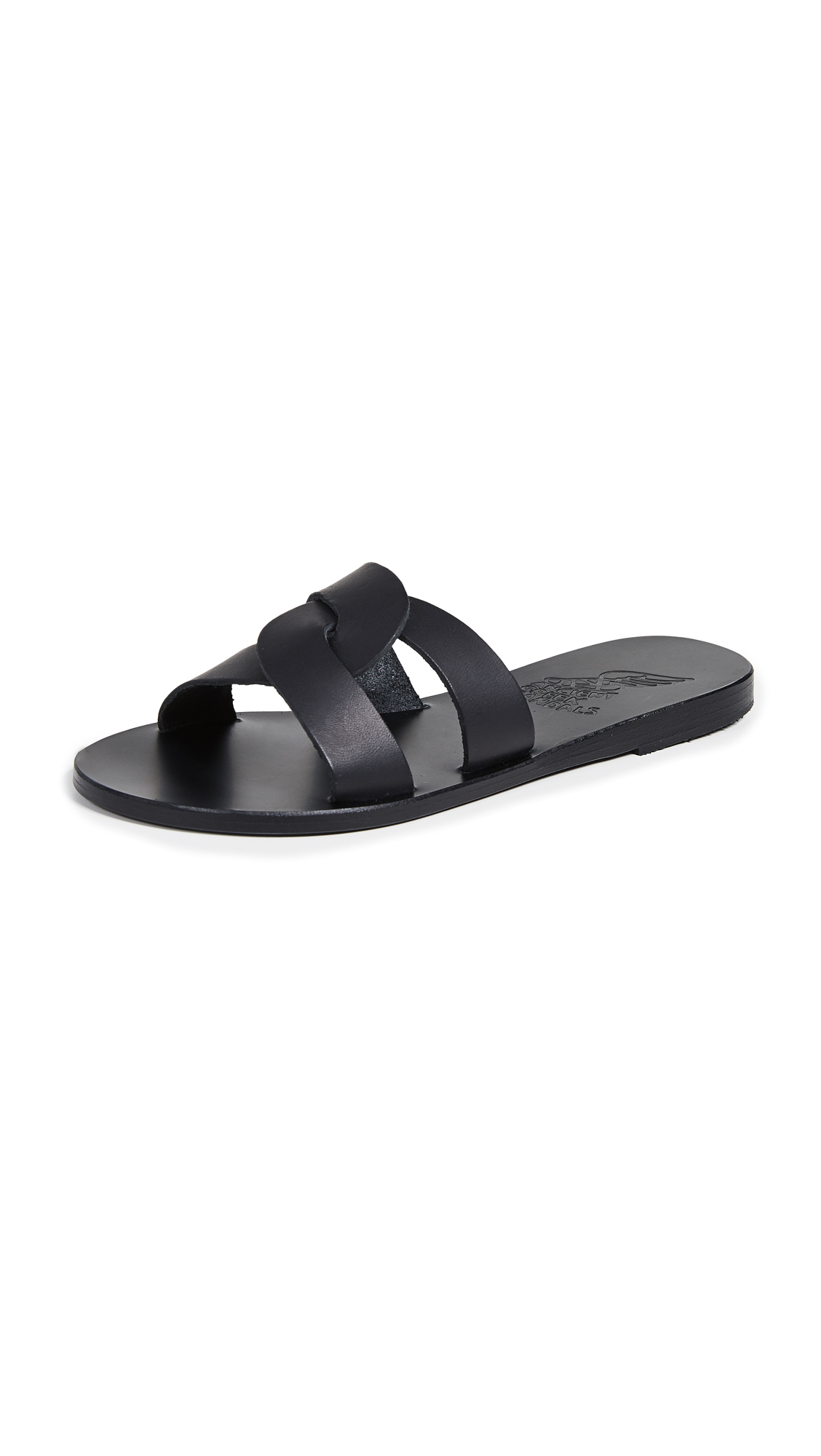 Ancient Greek Sandals Desmos Slides - Black