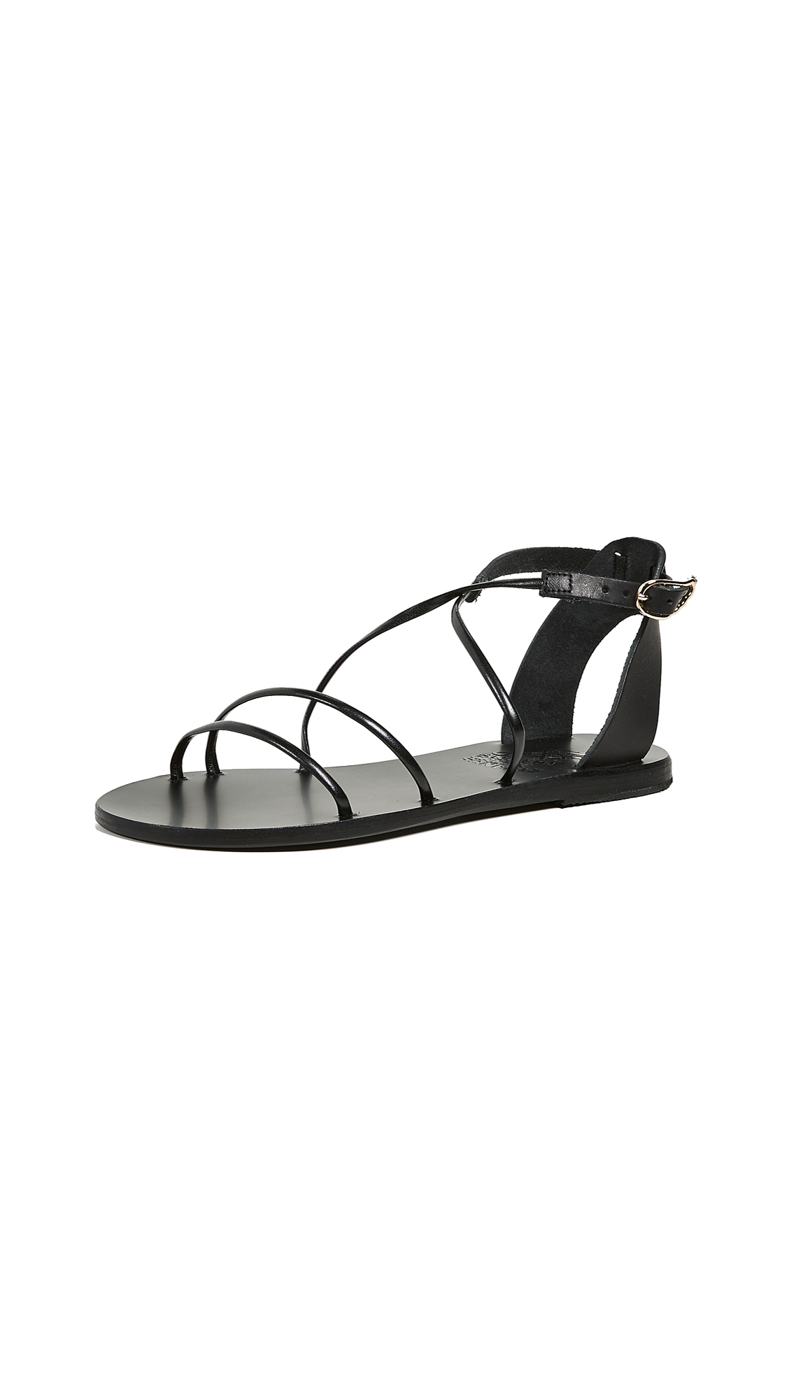 Ancient Greek Sandals Meloivia Sandals - Black