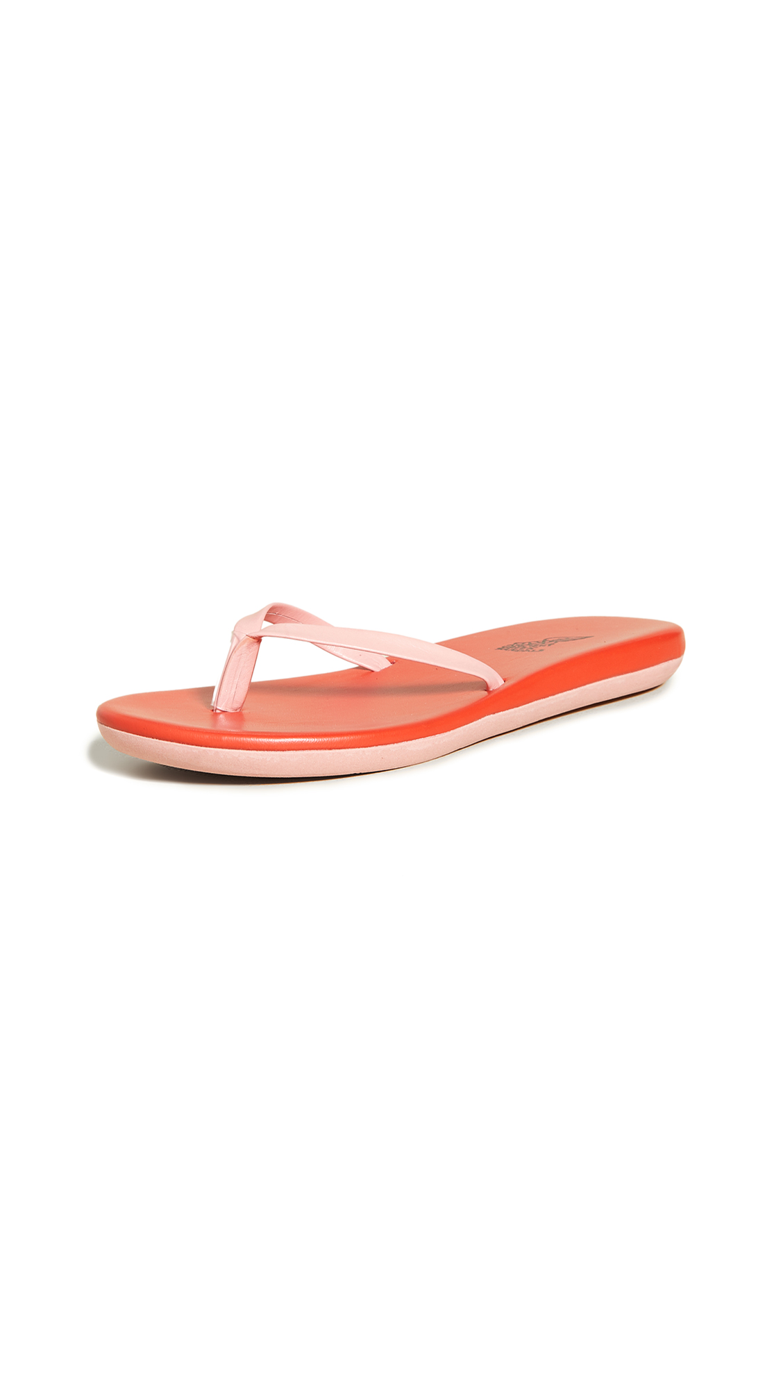 Ancient Greek Sandals Sagionara Flip Flops - Pink/Red
