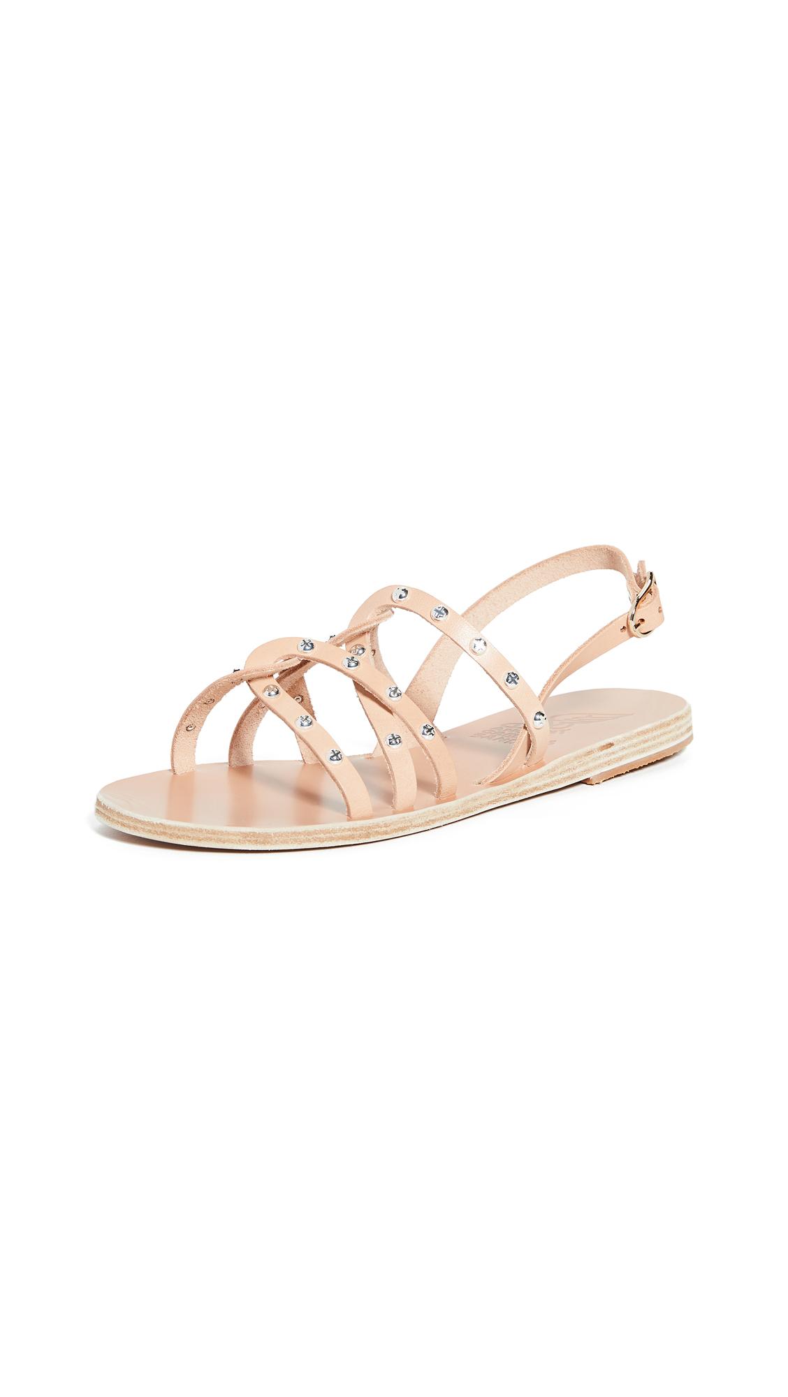 Buy Ancient Greek Sandals Schinousa Rivets Sandals online, shop Ancient Greek Sandals
