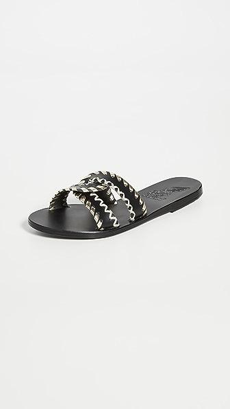 Ancient Greek Sandals Sandals DESMOS STITCH SLIDES