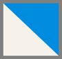 Off White/Blue Gems
