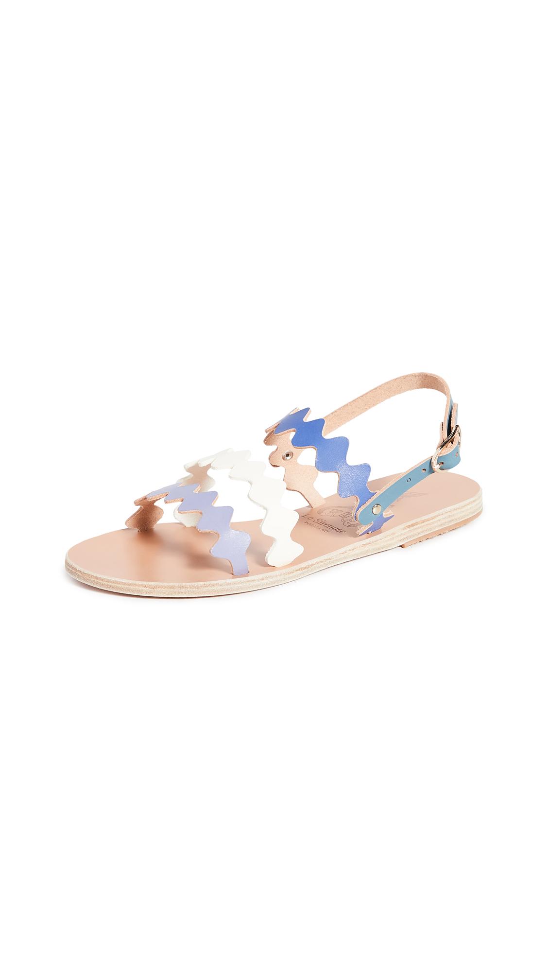 Buy Ancient Greek Sandals x Le Sirenuse Positano Clio Onda Sandals online, shop Ancient Greek Sandals