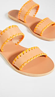 Ancient Greek Sandals Melia Stitch Slides