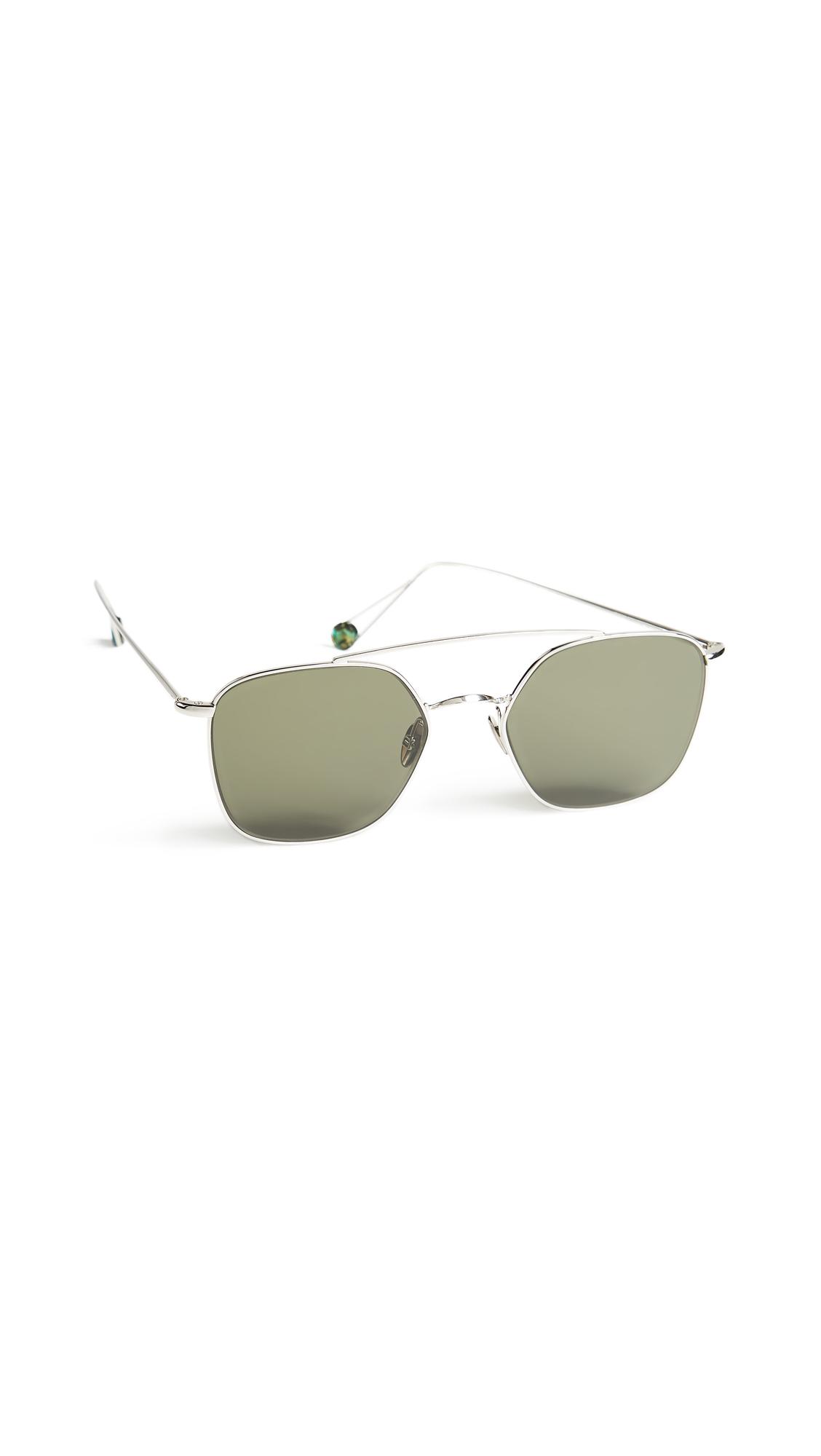Concorde Sunglasses, White Gold/Grey