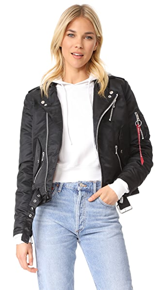 Alpha Industries Outlaw Biker Bomber Jacket | SHOPBOP