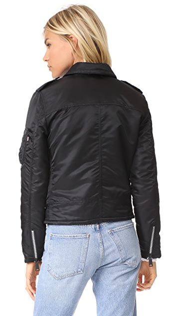Alpha Industries Outlaw Biker Bomber Jacket