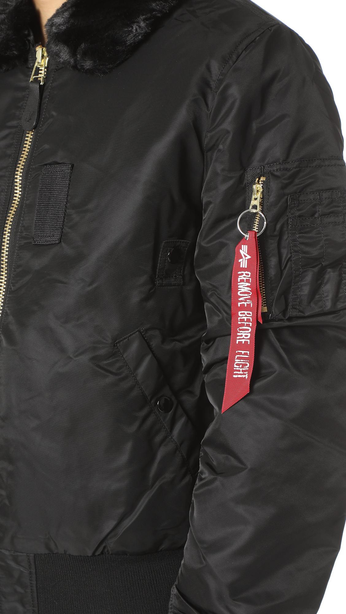 Alpha Industries B 15 Slim Fit Jacket East Dane Black Blazer Jaket Korea Style Sk