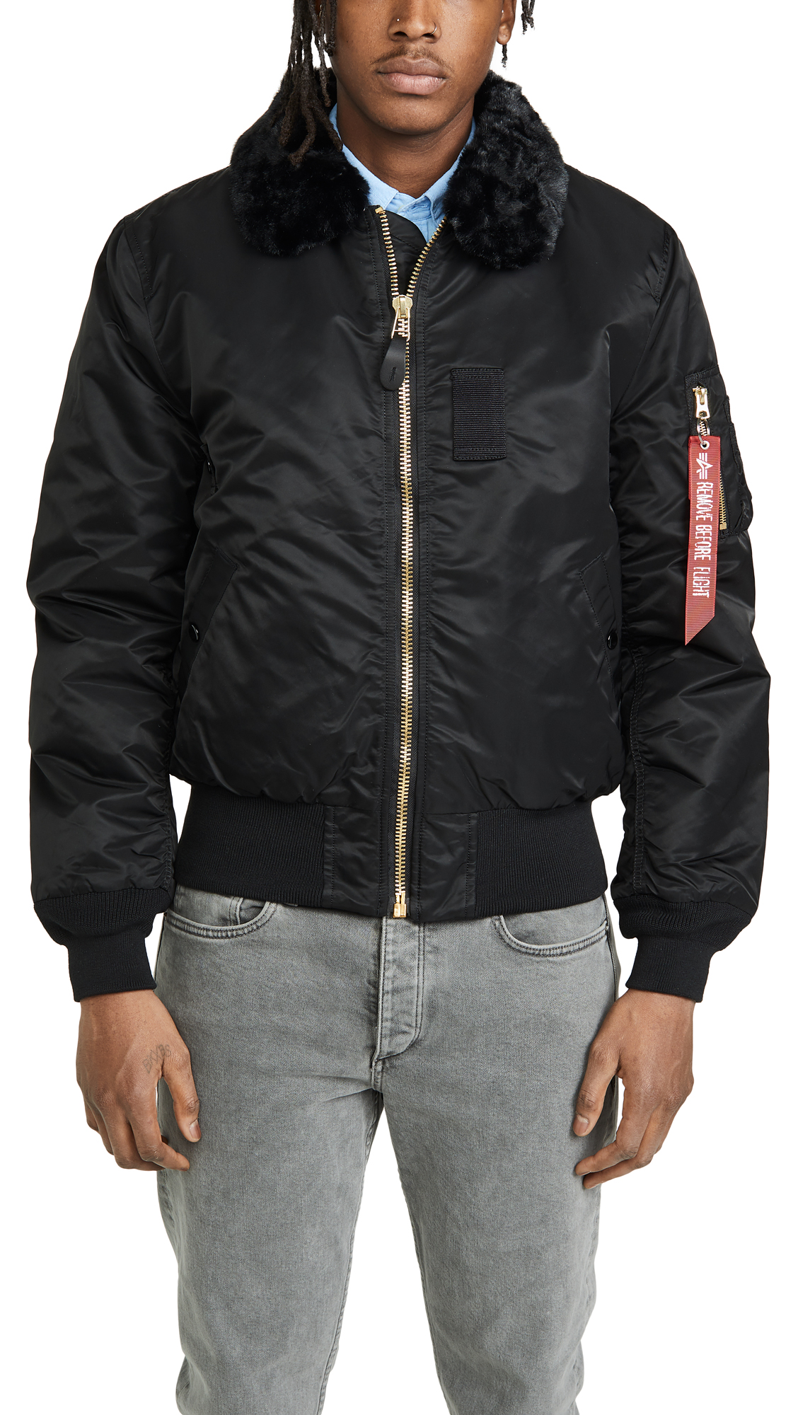 638834887c1 Alpha Industries B-15 Slim Fit Jacket